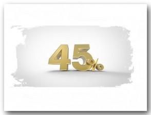 bis 45% Rabatt