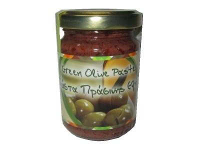 Olivenpaste grün 'wenig Salz'