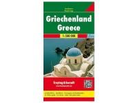 Autokarte 'Griechenland'