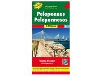 Autokarte 'Peleponnes'