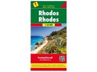 Autokarte 'Rhodos'