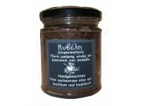 Olivenpaste 'Basilikum-Knofi'