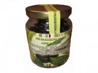 Bio-Oliven schwarz 'wenig Salz'